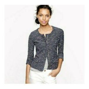 J. CREW tweed jacket. Size XXS. fits like XS/S